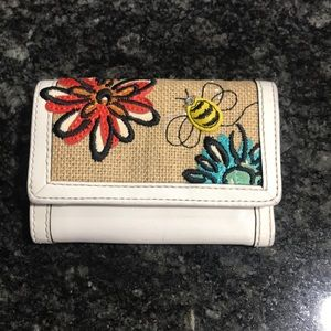 Coach bumble bee mini wallet